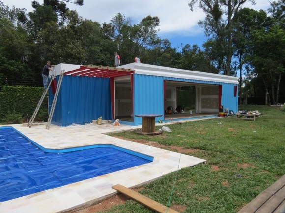 Container m rcia mendes ribeiro for Container piscina